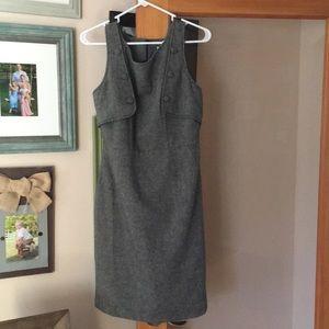BB Dakota wool button dress size 8